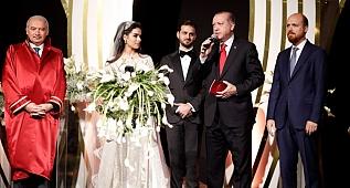 Cumhurbaşkanı Erdoğan Dişli Ailesinin Düğününde