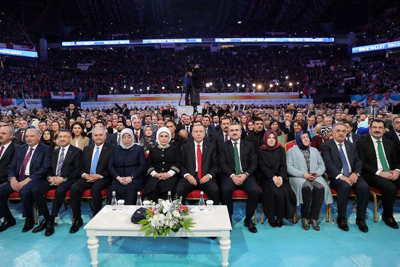Erdoğan, İstanbul Başkan Adaylarını Tanıttı