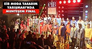 EİB 14. Moda Tasarım Yarışması'nı Sılay Kural Birinciliği Kazandı