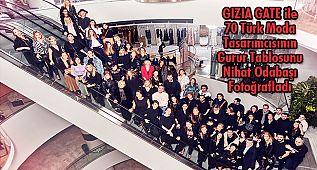 GIZIA GATE ile 70 Türk Moda Tasarımcısının Gurur Tablosu Fotoğraflandı