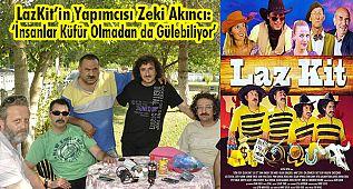 LazKit'in Yapımcısı Akıncı: 'İnsanlar Küfür Olmadan da Gülebiliyor'