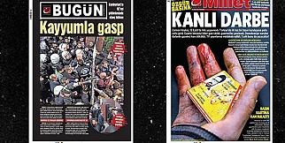 Bugün Gazetesi'nin Sayfaları Paylaşıldı