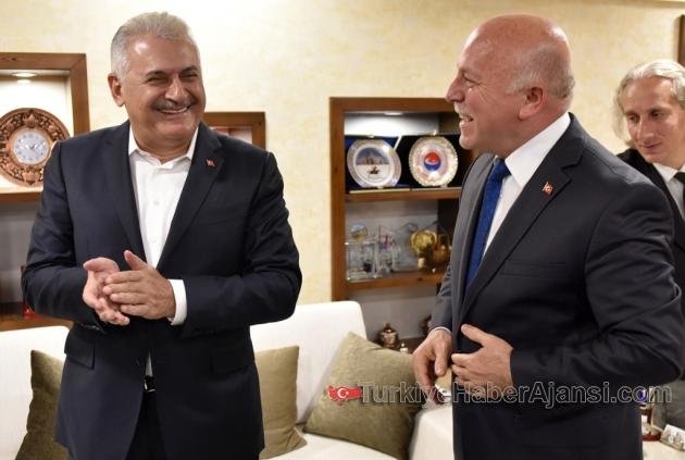 Yıldırım'dan Erzurum Büyükşehir'e Ziyaret