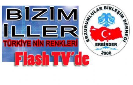 Flash Tv'de Erzurum Gecesi