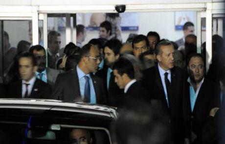 Erdoğan'a Geçmiş Olsun Telefonu