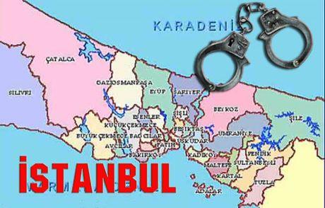 İstanbul'un Suç Haritası Çıkarıldı