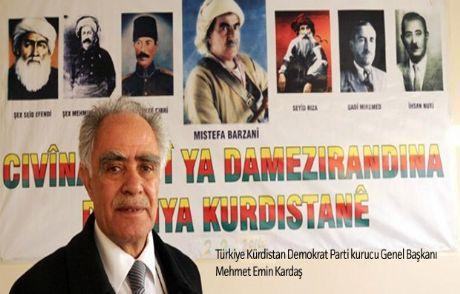 Türkiye Kürdistan Demokrat Partisi Kuruldu