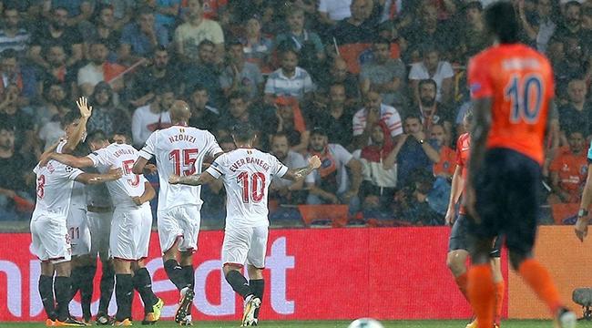 Başakşehir, Sevilla'yı Elinden Kaçırdı!