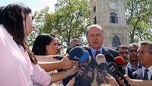 Erdoğan'dan Almanya'daki Türk Vatandaşlarına Çağrı