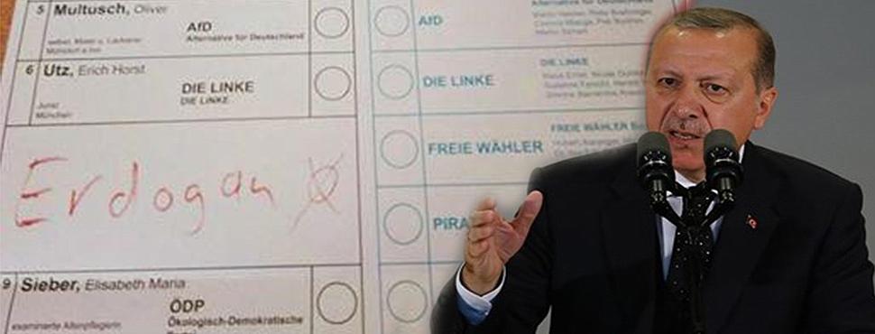 Almanya Seçimlerinde Erdoğan Sürprizi!