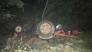 Devrilen Traktörün Altında Hayatını Kaybetti