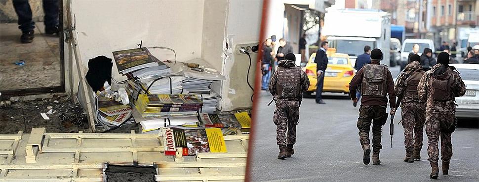 İstanbul'da Terör Operasyonu: 10 Kişi Yakalandı