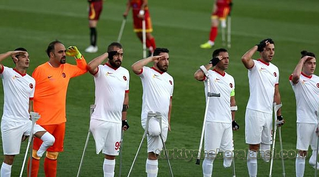 Ampute Futbol Milli Takımımız Çeyrek Finalde