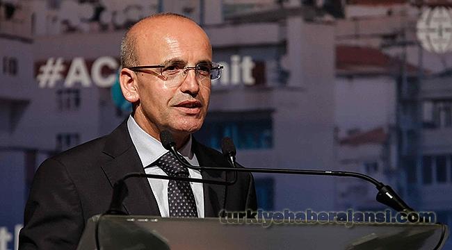 Başbakan Yardımcısı Mehmet Şimşek ABD'ye Gitti