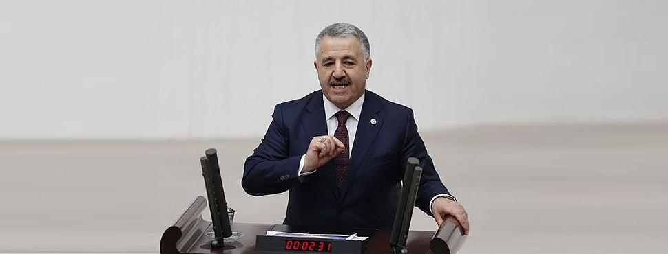 CHP'nin Ulaştırma Bakanı Hakkındaki Gensorusuna Ret