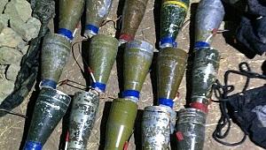 Cizre'de 15 Anti-Tank Roket Başlığı Ele Geçirildi