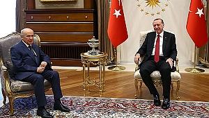 Cumhurbaşkanı Erdoğan, Bahçeli İle Görüştü!
