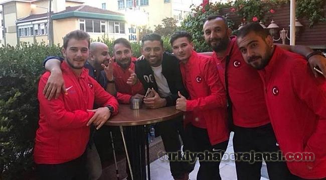 Hassan Özay, Ampüte Milli Takım ile Yemekteydi