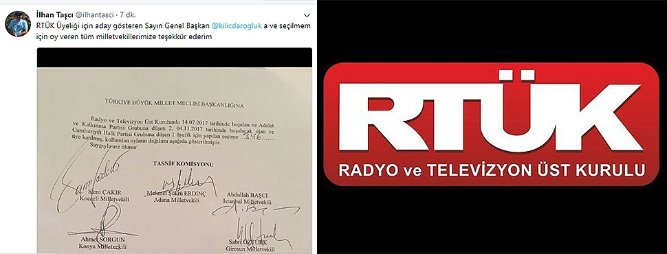 İşte CHP ve AKP'nin Yeni RTÜK Üyeleri