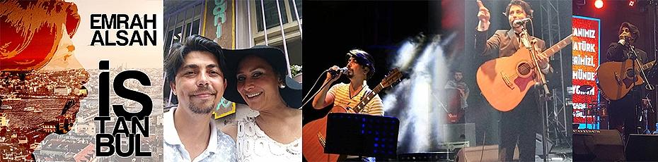 Sanatçı Emrah Alsan'dan İstanbul Single ve Klipi