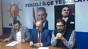 AK Parti Ferizli İlçe Yönetimi İstifa Etti
