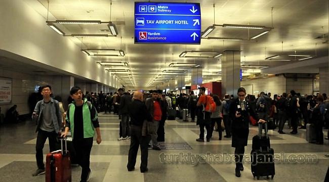 Atatürk Havalimanı Metro Girişinde Alarm