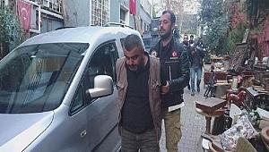 Beyoğlu'nda Bir Hamamda Uyuşturucu Baskını Yapıldı