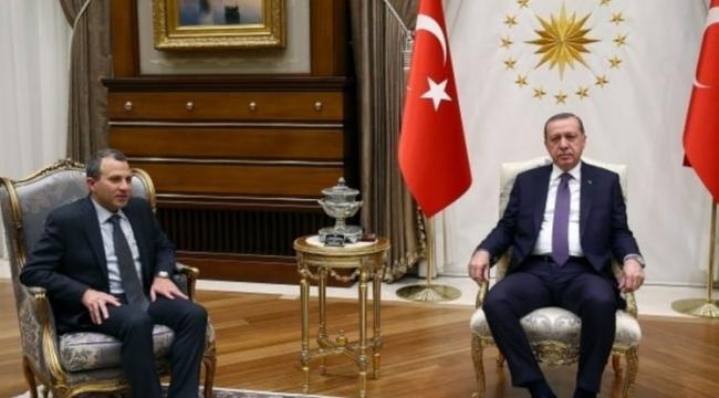 Erdoğan, Lübnan Dışişleri Bakanını Kabul Etti