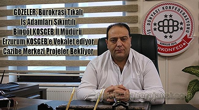 Erzurum KOSGEB Vekâletine ve Bürokrasi Tıkanıklığına Tepki!