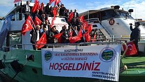 Kastamonulular Cumhuriyet Bayramını Boğazda Kutladı