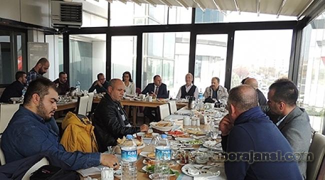 MHP Başakşehir İlçe Başkanlığı Basın Mensuplarını Ağırladı