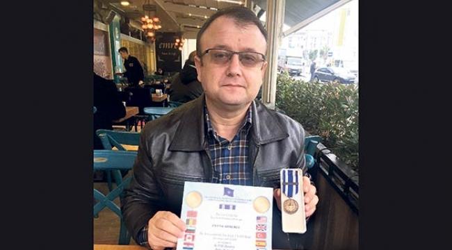 NATO Madalyasını Geri Gönderdi