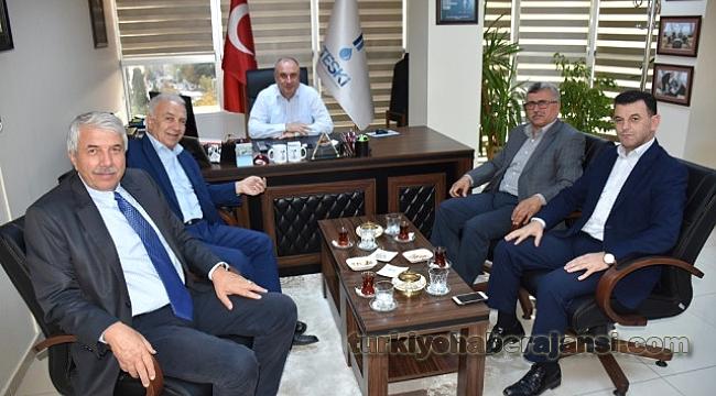TESKİ Genel Müdürü Belediye Meclis Üyelerini Ağırladı