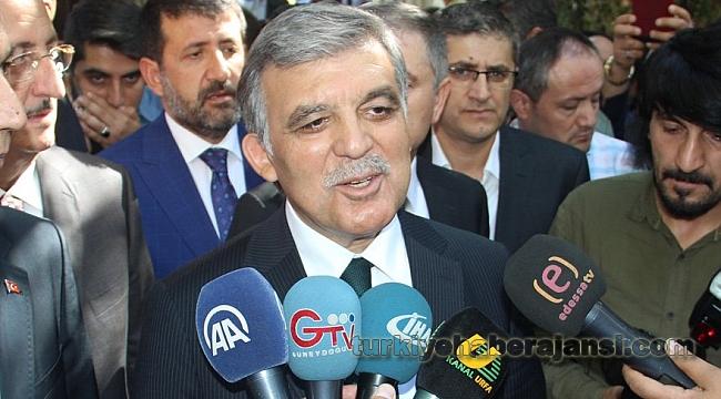 Abdullah Gül de o KHK'yı Eleştirdi