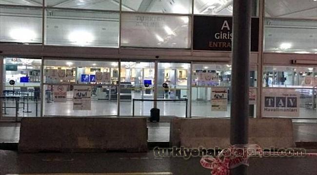 Atatürk Havalimanı'nda Şüpheli Paket Alarmı