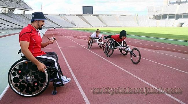 Bağcılarlı Engelli Sporcular Maratona Hazırlanıyor