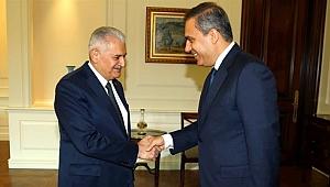 Başbakan Yıldırım Hakan Fidan'ı Kabul Etti