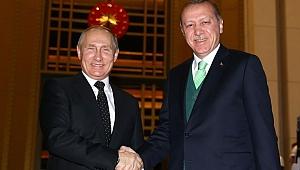 Erdoğan ve Putin'den Ortak Basın Açıklaması!