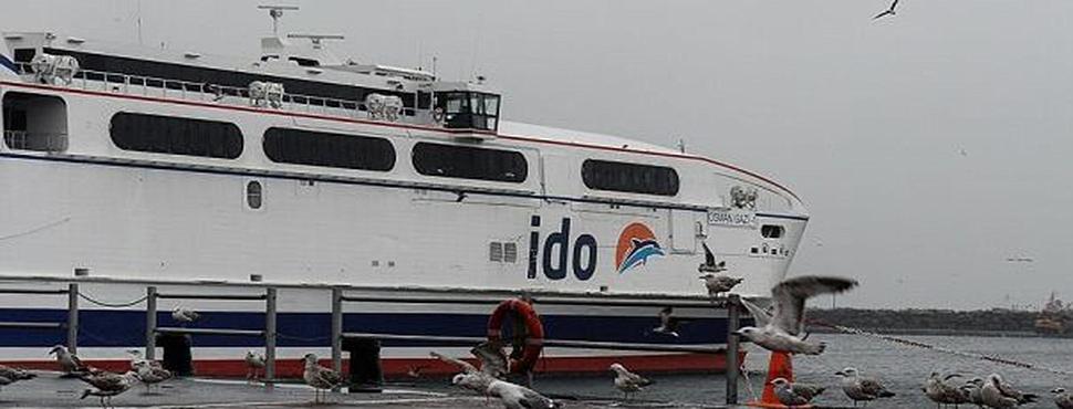 Hızlı Feribot ve Deniz Otobüsü Seferleri İptal Edildi!