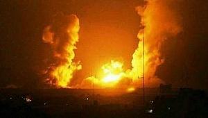 İsrail Gazze'ye Saldırdı: Yaralılar Var