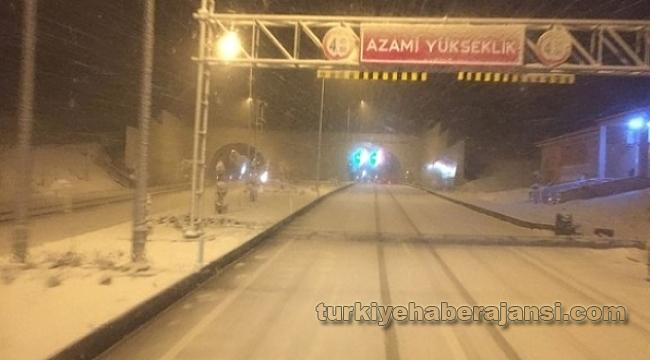 İstanbul-Ankara Otoyolu Ulaşıma Kapandı