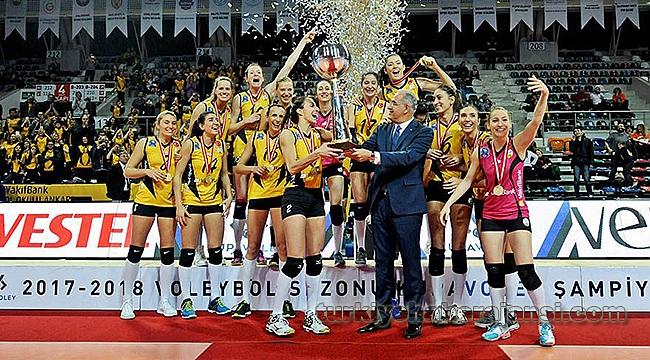 Kadınlar KupaVoley'de Şampiyon VakıfBank