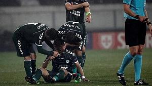 Konyaspor UEFA Avrupa Ligi'ne Veda Etti!