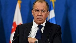 Lavrov'un Kudüs Cevabı Odayı Terk Ettirdi