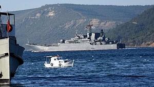 Rus Savaş Gemisi Akdeniz'e İniyor!