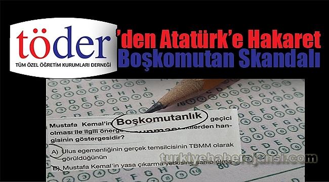 Şimdi de 'Boşkomutan Mustafa Kemal' Skandalı!