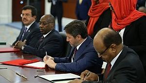 Sudan İle 22 Anlaşma İmzalandı