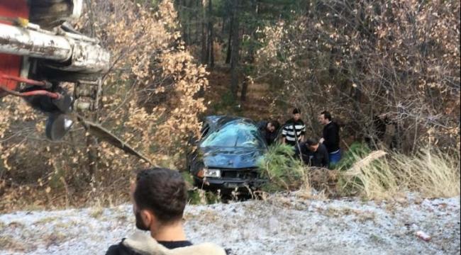 Tosya'da Trafik Kazası: 4 Kişi Yaralandı