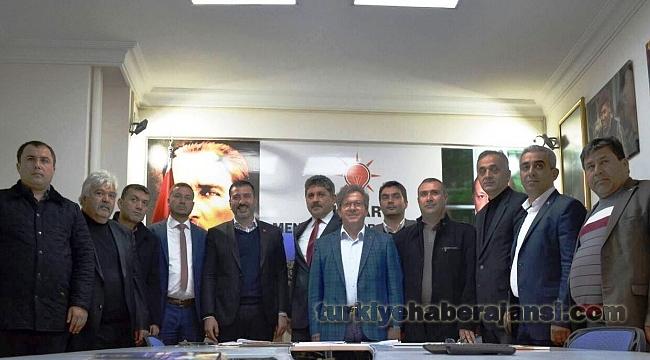 13 İlçe Başkanından Kadem Mete'ye Destek