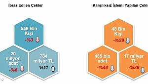 2017 yılında, Ne Kadar Çek Kullanıldı?